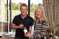 Longest Drive - Phil Parrott with NCBC Chairman Dianne Allen