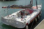 Blue Water Racing Yacht