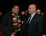 LUIGI GOLDAGELLI CON ALDO CAZZULLO<br /> MANIFESTAZIONE PER I 10 ANNI DELL'AUDITORIUR PARCO DELLA MUSICA ROMA 2013