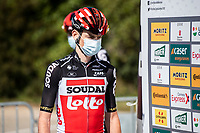 24th March 2021; Castelldefels, Catalonia, Spain; Volta Catalunya Cycling Tour stage 3 from Canal Olimpic de Catalunya to Vallter 2000; TOMASZ MARCZYNSKI of team LOTTO SOUDAL