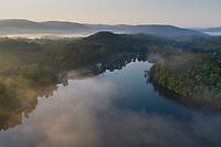 sunrise at Laurel Lake, Lee, Berkshire hills, MA