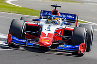 16th July 2021; Silverstone Circuit, Silverstone, Northamptonshire, England; F2 British Grand Prix, Free Practice; Robert Schwartzman in his Prema Racing Dallara F2 2018