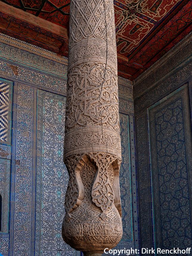 Harem in der Festung, Xiva, Usbekistan, Asien, UNESCO-Weltkulturerbe<br /> Harem in the fortress, historic city Ichan Qala, Chiwa, Uzbekistan, Asia, UNESCO heritage site