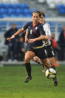 Lauren Cheney vs Germany in the 2010 Algarve Cup.