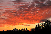 Sunrise over Mt. Hood Oregon from Multnomah County Oregon