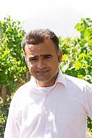 One of the brothers Cobo. Cobo winery, Poshnje, Berat. Albania, Balkan, Europe.