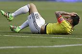James Rodriguez en partido de eliminatorias para el Mundial de Fútbol 2018 contra Ecuador en el Estadio Metropolitano Roberto Melendez de Barranquilla el 29 de marzo de 2016.<br /> <br /> Foto: Archivolatino<br /> <br /> COPYRIGHT: Archivolatino<br /> Prohibido su uso sin autorización.