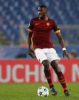 Calcio, Champions League: Gruppo E - Roma vs Bate Borisov. Roma, stadio Olimpico, 9 dicembre 2015.<br /> Roma's Antonio Ruediger in action during the Champions League Group E football match between Roma and Bate Borisov at Rome's Olympic stadium, 9 December 2015.<br /> UPDATE IMAGES PRESS/Riccardo De Luca