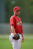 St. Louis Cardinals pitcher Sasha Kuebel (21) during practice before a Minor League Spring Training game against the New York Mets on March 31, 2016 at Roger Dean Sports Complex in Jupiter, Florida.  (Mike Janes/Four Seam Images)