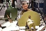 Foto: VidiPhoto<br /> <br /> OVERLOON – Oorlogsmuseum Overloon bestaat dit jaar 75 jaar en is daarmee het oudste oorlogsmuseum van West-Europa. Op dit moment wordt gewerkt twee nieuwe en grote projecten om nog meer publiek te trekken. Defensie heeft geholpen om voer- en vliegtuigen te verplaatsen. Foto: Diorama van een Russische mitrailleurschutter.