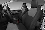 Front seat view of a 2015 Toyota Yaris LE 3-Door Liftback AT 3 Door Hatchback Front Seat car photos