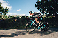 6th October 2021 Womens Cycling Tour, Stage 3. Individual Time Trial; Atherstone to Atherstone. Sarah Roy.