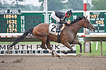 13 Jun 2010: Way With Words, Eddie Castro up, wins the $100,000 Open Mind Handicap for New Jersey Breds.