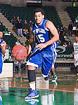 New Orleans Privateers guard Lenny Harmon (15) in action during the game between the New Orleans Privateers and the University of North Texas Mean Green at the North Texas Coliseum,the Super Pit, in Denton, Texas. UNT defeated UNO 78 to 47.....