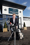 Murdo Macleod opens the refurbished clubhouse at Torrance Park Golf Club near Motherwell