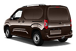 Car pictures of rear three quarter view of a 2019 Opel Combo Dynamic 4 Door Car van angular rear