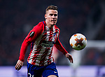 Kevin Gameiro of Atletico de Madrid in action during the UEFA Europa League 2017-18 Round of 16 (1st leg) match between Atletico de Madrid and FC Lokomotiv Moscow at Wanda Metropolitano  on March 08 2018 in Madrid, Spain. Photo by Diego Souto / Power Sport Images