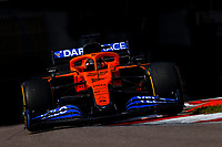 26th September 2020, Sochi, Russia; FIA Formula One Grand Prix of Russia, qualification;  55 Carlos Sainz ESP, McLaren F1 Team