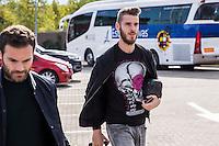 Spainsh David de Gea arriving at the concentration of the spanish national football team in the city of football of Las Rozas in Madrid, Spain. November 08, 2016. (ALTERPHOTOS/Rodrigo Jimenez) ///NORTEPHOTO.COM