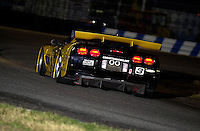 "The ""Earnhardt Corvette"" turns into the 1st horseshoe during night practice..39th Rolex 24 at Daytona, 3/4 February,2001 Daytona International Speedway  Daytona Beach,Florida,USA.©F.Peirce Williams 2001 .."