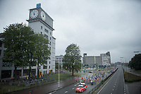 The start was given at the (former) world headquarters of Philips under a threatening sky promising for some wet racing conditions up ahead...<br /> a promise eventually delivered.<br /> <br /> stage 5: Eindhoven - Boxtel (183km)<br /> 29th Ster ZLM Tour 2015