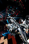 KISS at Verizon Wireless Amphitheater in St. Louis MO, performing on The Tour 2012 with Motley Crue.