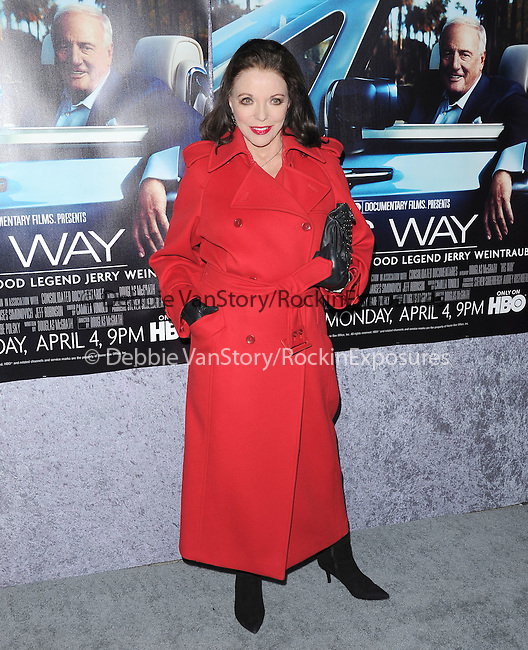 Joan Collins attends The HBO Premiere of HIS WAY Documentary held at Paramount Theater in Los Angeles, California on March 22,2011                                                                               © 2010 DVS / Hollywood Press Agency