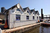 City Sporthafen in  Hamburg, Deutschland