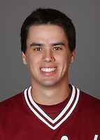 STANFORD, CA - NOVEMBER 11:  Brian Busick of the Stanford Cardinal during baseball picture day on November 11, 2009 in Stanford, California.