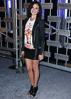 HOLLYWOOD, LOS ANGELES, CA, USA - NOVEMBER 10: Italia Ricci arrives at the HaloFest - Halo: The Master Chief Collection Launch Event held at Avalon on November 10, 2014 in Hollywood, Los Angeles, California, United States. (Photo by Xavier Collin/Celebrity Monitor)