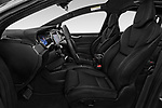 Front seat view of a 2019 Tesla Model X 100D 5 Door SUV front seat car photos
