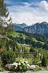 Austria, Vorarlberg, Fontanella: mountain village at Great Walser Valley | Oesterreich, Vorarlberg, Fontanella: Gebirgsdorf im Biosphaerenpark Grosses Walsertal