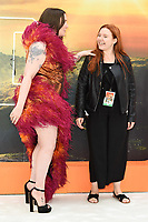 """LONDON, UK. July 30, 2019: Lena Dunham at the UK premiere for """"Once Upon A Time In Hollywood"""" in Leicester Square, London.<br /> Picture: Steve Vas/Featureflash"""