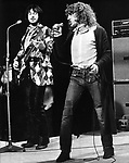 The Who 1970 John Entwistle and Roger Daltrey.© Chris Walter.