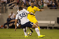 Orlando, FL - Saturday July 22, 2017: Javier Pastore during the International Champions Cup (ICC) match between the Tottenham Hotspurs and Paris Saint-Germain F.C. (PSG) at Camping World Stadium.