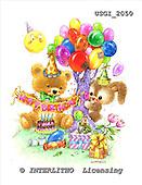 GIORDANO, CUTE ANIMALS, LUSTIGE TIERE, ANIMALITOS DIVERTIDOS, Teddies, paintings+++++,USGI2050,#AC# teddy bears