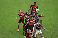 Rio de Janeiro (RJ), 12/07/2020 - Fluminense-Flamengo - Pedro (c), do Flamengo. Partida entre Fluminense e Flamengo, válida pela final do Campeonato Carioca 2020, no Estádio Jornalista Mário Filho (Maracanã), na zona norte do Rio de Janeiro, neste domingo (12).