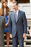 King Felipe VI of Spain during Royal Audience with the LIII and LIV year to access to prosecutorial career at Zarzuela Palace in Madrid, Spain. June 23, 2015.<br />  (ALTERPHOTOS/BorjaB.Hojas)