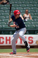 Memphis Redbirds outfielder Steven Hill #21 at bat during the Pacific Coast League baseball game against the Round Rock Express on May 6, 2012 at The Dell Diamond in Round Rock, Texas. The Express defeated the Redbirds 5-1. (Andrew Woolley/Four Seam Images)
