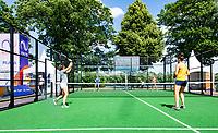 Den Bosch, Netherlands, 16 June, 2018, Tennis, Libema Open, Padle final womans<br /> Photo: Henk Koster/tennisimages.com