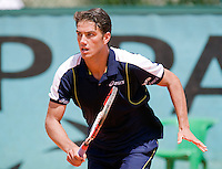 28-5-08, France,Paris, Tennis, Roland Garros, Jesse Huta Galung