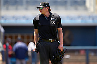 Umpire Chad Westlake during a game between the FCL Twins and FCL Rays on July 20, 2021 at Charlotte Sports Park in Port Charlotte, Florida.  (Mike Janes/Four Seam Images)