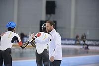 SPEEDSKATING: 15-02-2020, Utah Olympic Oval, ISU World Single Distances Speed Skating Championship, Team Pursuit Men, Team Japan (JPN), Johan de Wit (coach JPN), ©photo Martin de Jong