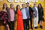 Clara Alonso (l), Ramon Barea, Ana Fernandez, Carlos Iglesias, Santiago Requejo, Roberto Alvarez and Eva Santolaria attend Abuelos premiere on October 09, 2019 in Madrid, Spain.(ALTERPHOTOS/ItahisaHernandez)