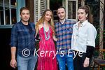 Enjoying the evening in Molly J's on Saturday, l to r: Bart Kowalski, Stephanie Kelly, Bobby Leane and Alannah Diggin
