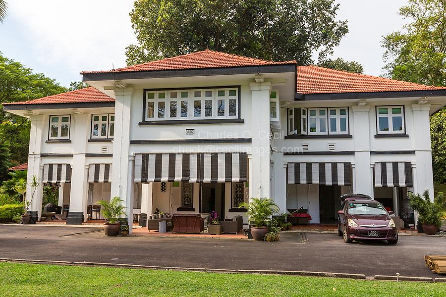 British Colonial Era House (1936), Alexandra Park, Singapore.