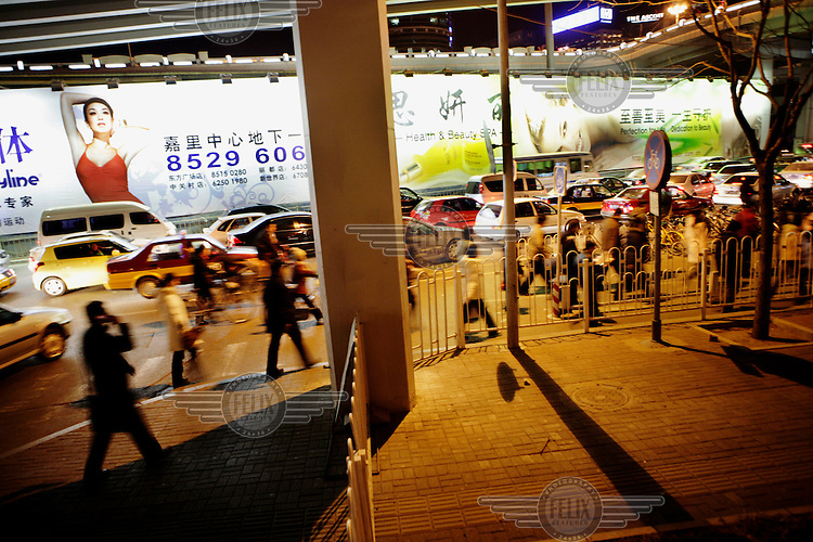 Rush hour in the Central Business District (CBD).
