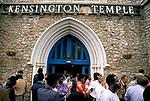 Kensington Temple London UK, church service Sunday 11a,m. 1990s
