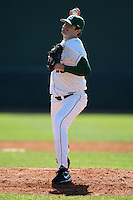 February 26, 2010:  Pitcher A.J. Achter (35) of the Michigan State Spartans during the Big East/Big 10 Challenge at Raymond Naimoli Complex in St. Petersburg, FL.  Photo By Mike Janes/Four Seam Images