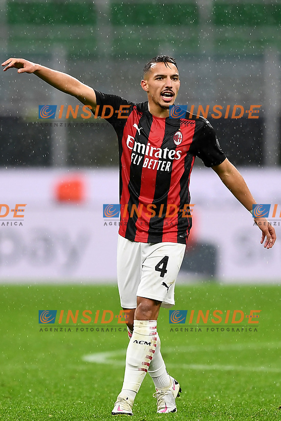 Ismael Bennacer<br /> Serie A football match between AC Milan and Spezia Calcio at San Siro Stadium in Milano  (Italy), October 4th, 2020. Photo Image Sport / Insidefoto